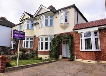 Thumbnail 3 bed semi-detached house for sale in Oak Hill Crescent, Woodford Green