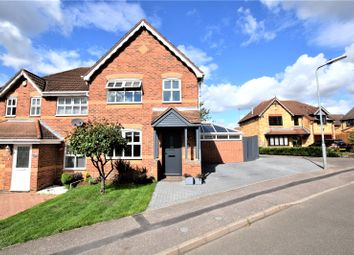 Thumbnail 3 bed semi-detached house for sale in Harcourt Way, Hunsbury Hill, Northampton