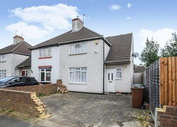 Thumbnail 3 bed semi-detached house for sale in Crossway, Pinner