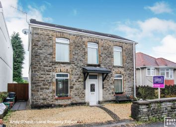 Thumbnail 4 bed detached house for sale in Walters Road, Llansamlet
