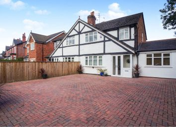 Thumbnail 4 bed semi-detached house for sale in Bramhall Lane South, Bramhall, Stockport