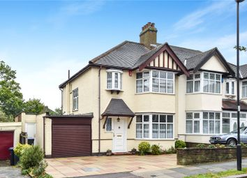 Thumbnail 3 bed semi-detached house for sale in Shrubbery Gardens, Winchmore Hill, London