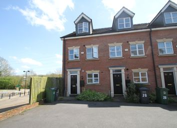 Thumbnail 3 bed end terrace house to rent in Ned Ludd Close, Anstey, Leicester
