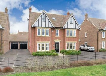 Thumbnail 5 bed detached house for sale in Gleneagles Close, Great Denham, Bedfordshire