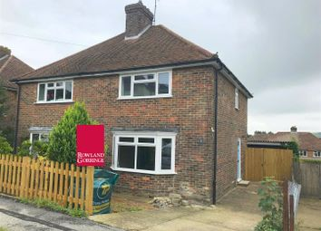 Thumbnail 3 bed semi-detached house for sale in East Way, Lewes
