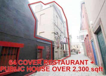 Thumbnail Commercial property for sale in 14, Market Place, Arbroath DD111Hr