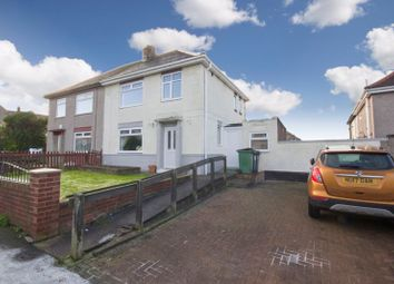 Thumbnail 3 bed semi-detached house for sale in Barnaby Crescent, Eston, Middlesbrough