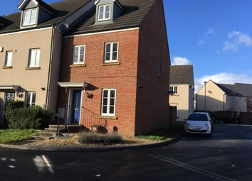 Thumbnail 3 bed end terrace house to rent in Bramley Copse, Long Ashton