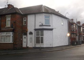 Thumbnail 3 bed end terrace house for sale in Gresty Road, Crewe, Cheshire