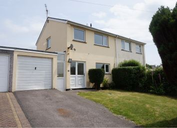 Thumbnail 3 bed semi-detached house for sale in Franklyn Close, St. Austell