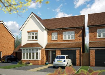 "Thumbnail 4 bed detached house for sale in ""The Alder"" at Canon Ward Way, Haslington, Crewe"