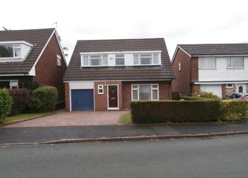 Thumbnail 3 bed detached house for sale in Brampton Avenue, Macclesfield