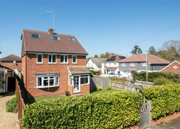 Thumbnail 4 bed detached house for sale in Florence Road, Church Crookham, Fleet