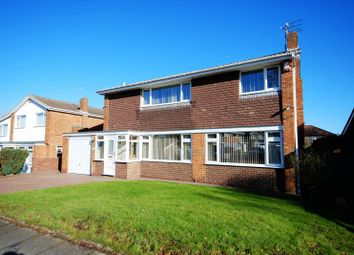 Thumbnail 4 bed detached house for sale in Low Stobhill, Morpeth