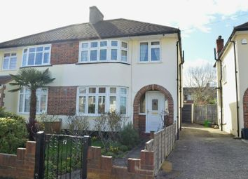 Thumbnail 3 bed semi-detached house for sale in Rhodrons Avenue, Chessington