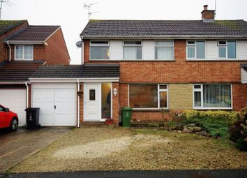 Thumbnail 3 bedroom semi-detached house for sale in Shapwick Close, Swindon