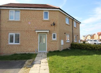 Thumbnail 3 bed semi-detached house for sale in Bradford Drive, Bishop Auckland, Durham