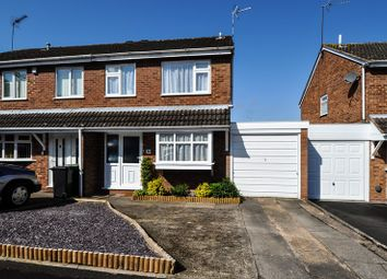 Thumbnail 3 bed semi-detached house for sale in Cheswick Close, Winyates Green, Redditch