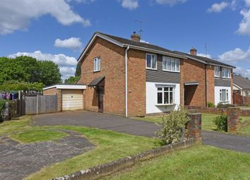 Thumbnail 3 bed detached house for sale in Hamesmoor Road, Mytchett