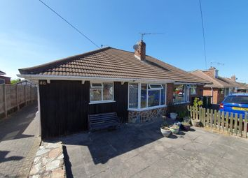 Thumbnail 3 bed semi-detached bungalow for sale in Festival Avenue, Thurmaston, Leicester