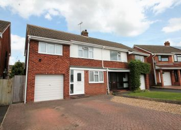 Thumbnail 3 bed semi-detached house for sale in Fieldcote Drive, Hucclecote, Gloucester