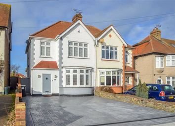 Thumbnail 3 bed semi-detached house for sale in Southbourne Grove, Westcliff-On-Sea, Essex