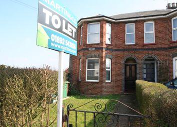 Thumbnail 1 bedroom flat to rent in St. James Road, Tunbridge Wells