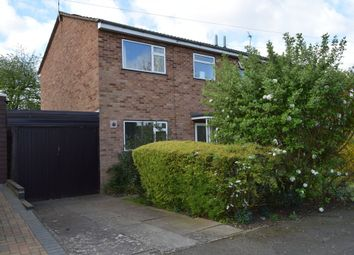 Thumbnail 3 bed semi-detached house for sale in Jennet Close, Thurnby Lodge, Leicester