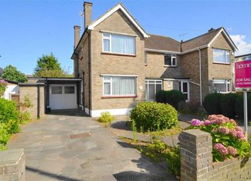 Thumbnail 3 bed semi-detached house for sale in Maplin Way, Thorpe Bay, Essex