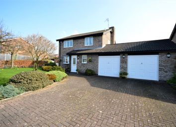 Thumbnail 3 bed detached house for sale in Bainbridge Road, Wigston
