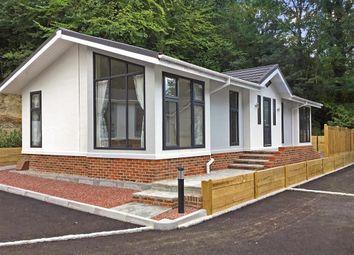 Thumbnail 2 bed mobile/park home for sale in Botsom Lane, West Kingsdown, Sevenoaks, Kent