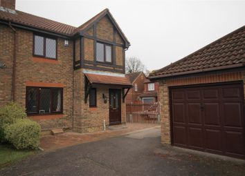Thumbnail 3 bed semi-detached house for sale in Aveling Close, Maidenbower, Crawley