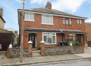 Thumbnail 4 bed semi-detached house for sale in Pegwell Avenue, Ramsgate