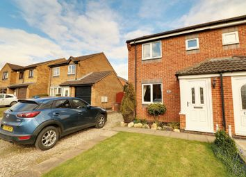 Thumbnail 2 bed semi-detached house for sale in Avenue Nozay, Broughton, Brigg