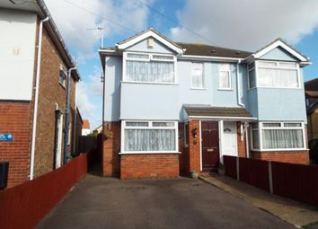 Thumbnail 3 bed semi-detached house for sale in Warwick Crescent, Clacton-On-Sea