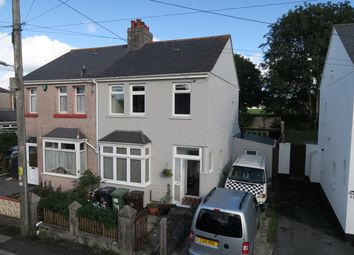 Thumbnail 3 bed semi-detached house for sale in Rocky Park Road, Plymstock, Plymouth.