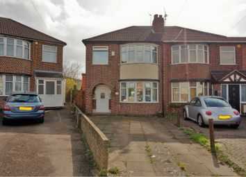 Thumbnail 3 bed semi-detached house for sale in Camden Road, Leicester