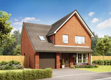 "Thumbnail 4 bed detached house for sale in ""Harwich"" at Moss Lane, Macclesfield"