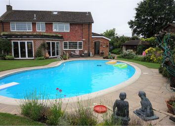 Thumbnail 4 bed detached house for sale in Bower Road, Mersham