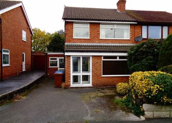 Thumbnail 3 bed semi-detached house to rent in Woodville Drive, Marple, Stockport