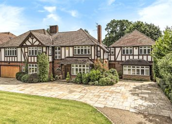 Thumbnail 6 bed detached house for sale in Orpington Road, Chislehurst