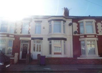 Thumbnail 3 bed terraced house for sale in Undercliffe Road, Liverpool, Merseyside
