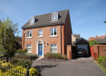 Thumbnail 5 bedroom detached house for sale in Gavin Way, Highwoods, Colchester
