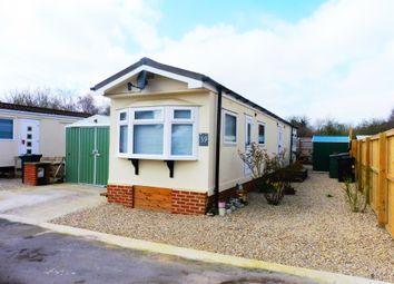 Thumbnail 1 bedroom lodge for sale in Kingsdown Park, Swindon