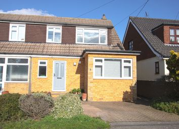 Thumbnail 3 bed semi-detached house for sale in Bellevue Road, Billericay, Essex