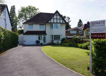 Thumbnail 4 bed detached house for sale in Widney Manor Road, Solihull