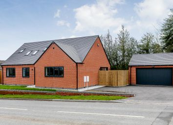Thumbnail 4 bed bungalow for sale in Main Road, Hulland Ward, Ashbourne, Derbyshire