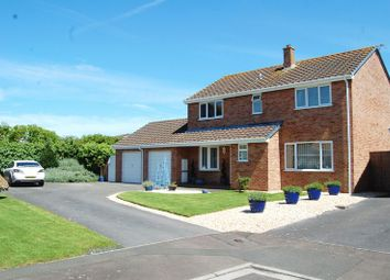 Thumbnail 4 bed detached house for sale in Eastleigh Close, Burnham-On-Sea
