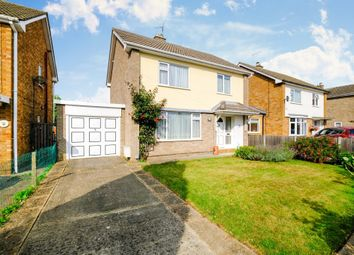Thumbnail 3 bed detached house for sale in Saxon Road, Whittlesey, Peterborough
