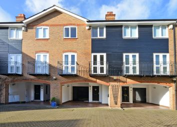 Thumbnail 4 bed terraced house for sale in Harvest Lane, Thames Ditton